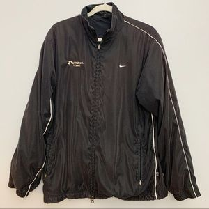 Nike | Black Purdue Tennis Athletic Zip Up Jacket
